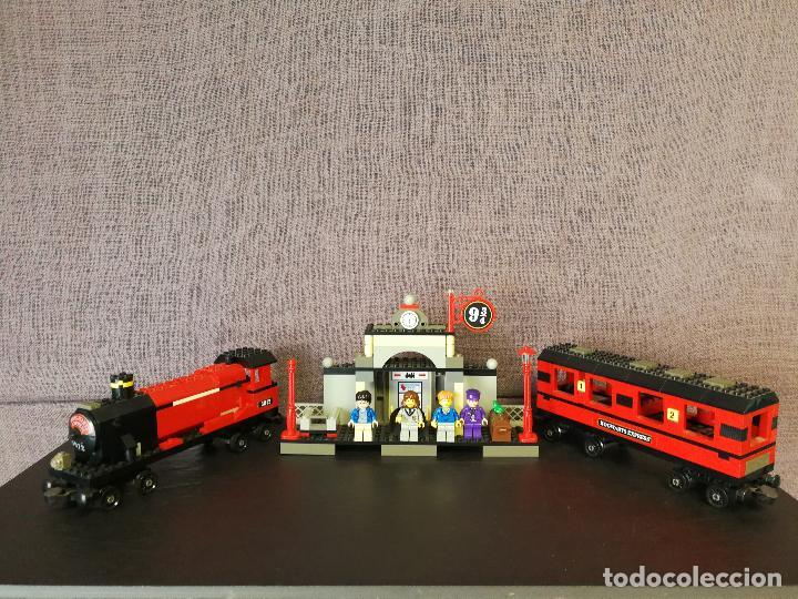TREN LEGO HARRY POTTER HOGWARTS EXPRESS CON INSTRUCCIONES (Juguetes - Construcción - Lego)