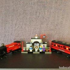 Juegos construcción - Lego: TREN LEGO HARRY POTTER HOGWARTS EXPRESS CON INSTRUCCIONES. Lote 110889295