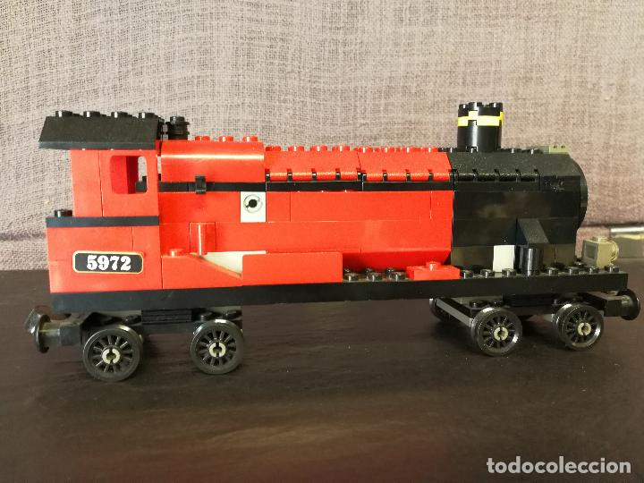 Juegos construcción - Lego: TREN LEGO HARRY POTTER HOGWARTS EXPRESS CON INSTRUCCIONES - Foto 4 - 110889295