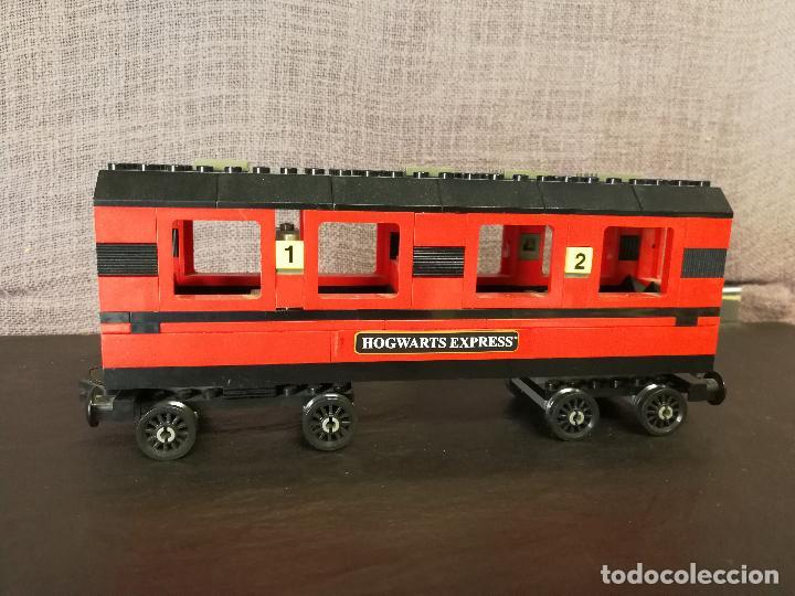 Juegos construcción - Lego: TREN LEGO HARRY POTTER HOGWARTS EXPRESS CON INSTRUCCIONES - Foto 9 - 110889295