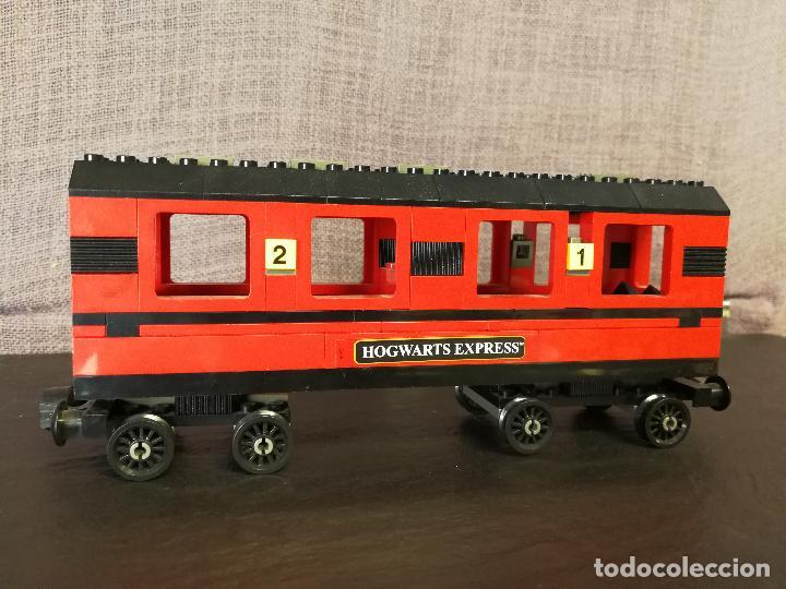 Juegos construcción - Lego: TREN LEGO HARRY POTTER HOGWARTS EXPRESS CON INSTRUCCIONES - Foto 11 - 110889295