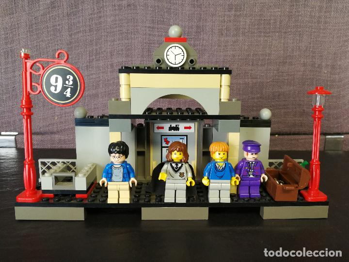 Juegos construcción - Lego: TREN LEGO HARRY POTTER HOGWARTS EXPRESS CON INSTRUCCIONES - Foto 15 - 110889295