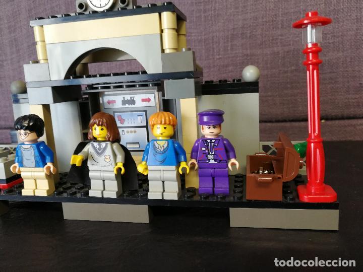Juegos construcción - Lego: TREN LEGO HARRY POTTER HOGWARTS EXPRESS CON INSTRUCCIONES - Foto 18 - 110889295