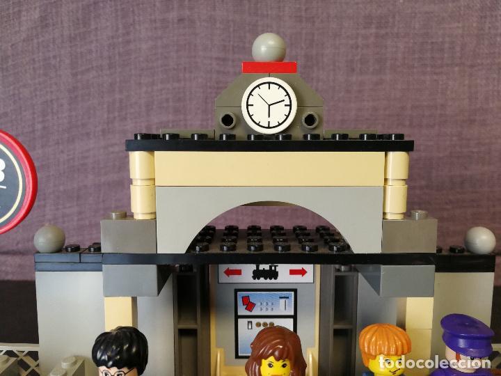 Juegos construcción - Lego: TREN LEGO HARRY POTTER HOGWARTS EXPRESS CON INSTRUCCIONES - Foto 19 - 110889295