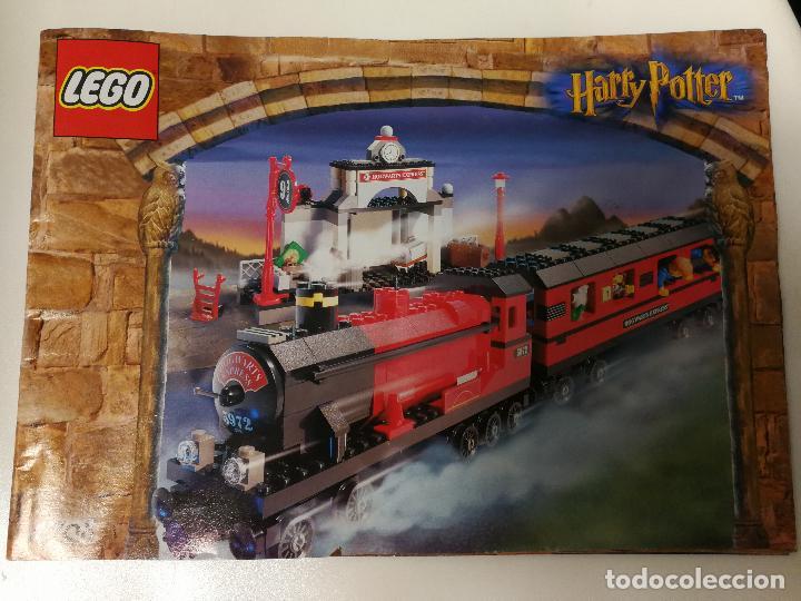 Juegos construcción - Lego: TREN LEGO HARRY POTTER HOGWARTS EXPRESS CON INSTRUCCIONES - Foto 22 - 110889295