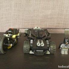 Juegos construcción - Lego: VEHÍCULOS MOTO COCHE BATMAN GHOTAN LEGO. Lote 111192551