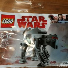 Juegos construcción - Lego: STAR WARS - LEGO 30497 - NUEVO - FIRST ORDER HEAVY ASSAULT WALKER. Lote 111215959