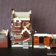 Juegos construcción - Lego: HARRY POTTER SHRIEKING SHACK LEGO 4756. Lote 111296683