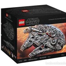 Juegos construcción - Lego: LEGO STAR WARS 75192 MILLENNIUM FALCON, 7541 PIEZAS, SERIE UCS, NUEVO , PRECINTADO. Lote 111659687