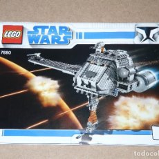 Juegos construcción - Lego: LEGO STAR WARS 7680 THE TWILIGHT. Lote 112042579