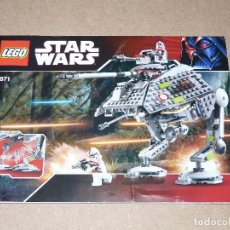 Juegos construcción - Lego: LEGO STAR WARS 7671 AT-AP WALKER. Lote 112136095