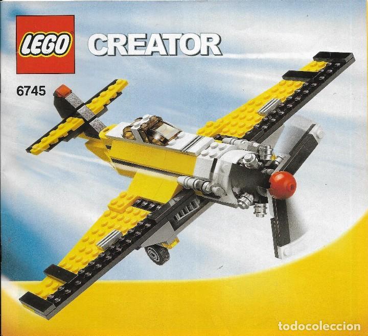 *** K133 - CATALOGO LEGO CREATOR 6745 (Juguetes - Construcción - Lego)