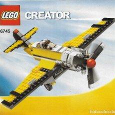 Juegos construcción - Lego: *** K133 - CATALOGO LEGO CREATOR 6745. Lote 112261923