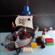 Juegos construcción - Lego: BARCO PIRATA LEGO DUPLO. Lote 112332039