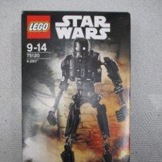 Juegos construcción - Lego: LEGO STAR WARS K-2SO NUEVO SIN ABRIR NUEVO Nº 75120. Lote 112350579