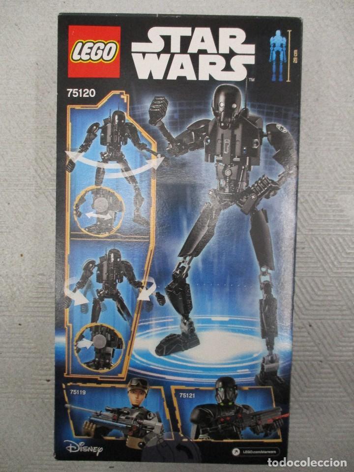 Juegos construcción - Lego: LEGO STAR WARS K-2SO NUEVO SIN ABRIR NUEVO Nº 75120 - Foto 2 - 112350579
