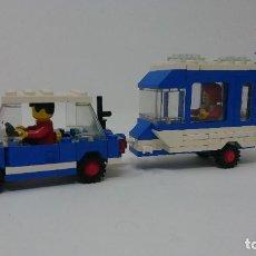 Lego legoland coche con Caravana. Antigua refencia