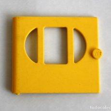 Juegos construcción - Lego: LEGO FABULAND PUERTA AMARILLA CON EL PANEL OVAL EN 3 SECCIONES . Lote 112709999