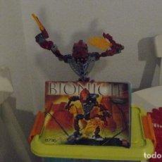 Juegos construcción - Lego: FIGURA BIONICLE DE LEGO VAKAMA. Lote 112790675