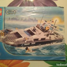 Juegos construcción - Lego: INSTRUCCIONES LEGO PATRULLERA REFERENCIA 7899. Lote 112834555