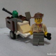 Juegos construcción - Lego: LEGO 5903 ADVENTURES PERSONAJE CARRO DINO . Lote 112994779