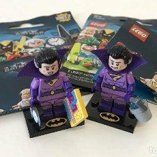 Juegos construcción - Lego: LEGO MINIFIGURES SERIE BATMAN 2 ZAN Y JAYNA. Lote 113238151