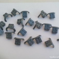 Juegos construcción - Lego: LEGO PARTS PIEZAS 50745 VEHICLE MUDGUARD LEGO GRIS GUARDABARROS. Lote 113610035