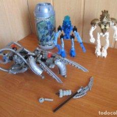 Juegos construcción - Lego: LEGO: LOTE DE LEGO BIONICLE. Lote 114443955