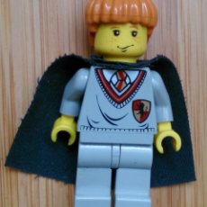 Juegos construcción - Lego: FIGURA MINIFIG LEGO HARRY POTTER RON WEASLEY GRYFFINDOR . Lote 114446147