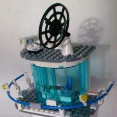 Juegos construcción - Lego: LEGO 7739 TORRE CONTROL PUERTO. Lote 114787331