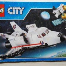 Juegos construcción - Lego: CATALOGO INSTRUCCIONES LEGO CITY NAVE ESPACIAL 2015. Lote 114990862