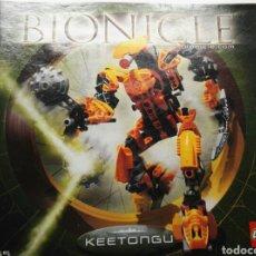 Juegos construcción - Lego: CATALOGO INSTRUCCIONES LEGO BIONICLE KEETONGU 2005. Lote 114993271