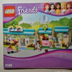 Juegos construcción - Lego: CATALOGO INSTRUCCIONES LEGO FRIENDS 2012. Lote 115002927