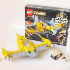 Juegos construcción - Lego: LEGO NABOO FIGHTER DE STAR WARS - EPISODIO I - REF 7141. Lote 115508971