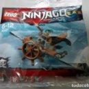 Juegos construcción - Lego: LEGO POLYBAG NINJAGO PLANEADOR AEREO. Lote 115601323