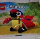 Juegos construcción - Lego: LEGO POLYBAG LORO. Lote 115602051