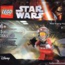 Juegos construcción - Lego: LEGO POLYBAG STAR WARS REBEL A-WING PILOT. Lote 116108167