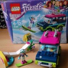 Juegos construcción - Lego: LEGO FRIENDS 41321 COCHE INVIERNO DEPORTES. Lote 116248155