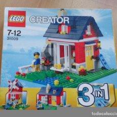 Juegos construcción - Lego: LEGO CREADOR CASA 31009. Lote 116251759