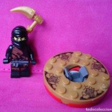 Juegos construcción - Lego: LEGO MINIFIG NINJA NINJAGO COLE DX SPINNER . Lote 116604987