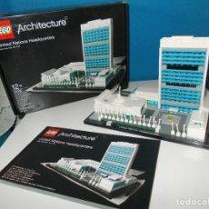Juegos construcción - Lego: ONU DE LEGO ARQUITECTURE DESCATALOGADO. Lote 116686259