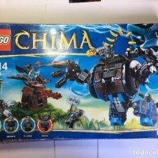 Juegos construcción - Lego: LEGO GORILA ROBOT LEGENDS OF CHIMA DE LEGO 70008. Lote 116958943