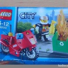 Juegos construcción - Lego: LEGO MOTO BOMBEROS 60000. Lote 116998651