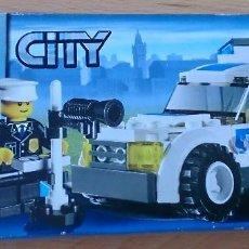 Juegos construcción - Lego: LEGO CITY 7236 COCHE DE POLICÍA CON RADAR. Lote 116999627