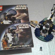 Juegos construcción - Lego: LEGO STAR WARS, NAVE JANGO FETT'S SLAVE I, REF.7153, EN CAJA Y CON INSTRUCCIONES. Lote 117120167