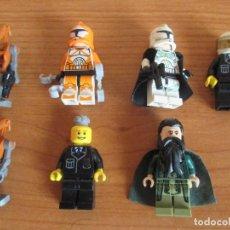 Juegos construcción - Lego: LEGO: LOTE FIGURAS STAR WARS Y OTRAS. Lote 118206123