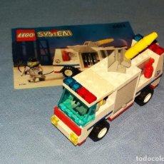 Juegos construcción - Lego: LEGO SYSTEM REF 6614 CAMION DE BOMBEROS AÑOS 90. Lote 118341103