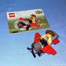 Juegos construcción - Lego: LEGO SYSTEM REF 5911 VAQUERO CON AVION AÑOS 90 . Lote 118344871