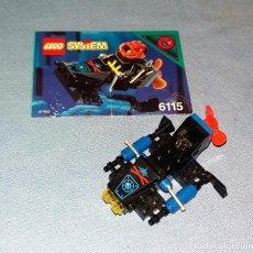 Juegos construcción - Lego: LEGO SYSTEM REF 6115 NAVE ESPACIO AÑOS 90 . Lote 118345475