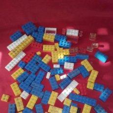 Juegos construcción - Lego: LOTE DE PIEZAS, CONSTRUCIÓN DE LEGO. Lote 118454879
